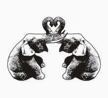 Elephants In Love by Rainy