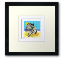 Cosmopolitan: 'Maisie and the Mutt' Framed Print