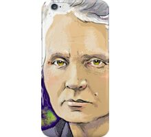 Marie Curie - Nobel Prize Winner iPhone Case/Skin