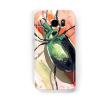 Green Carab Beetle Samsung Galaxy Case/Skin