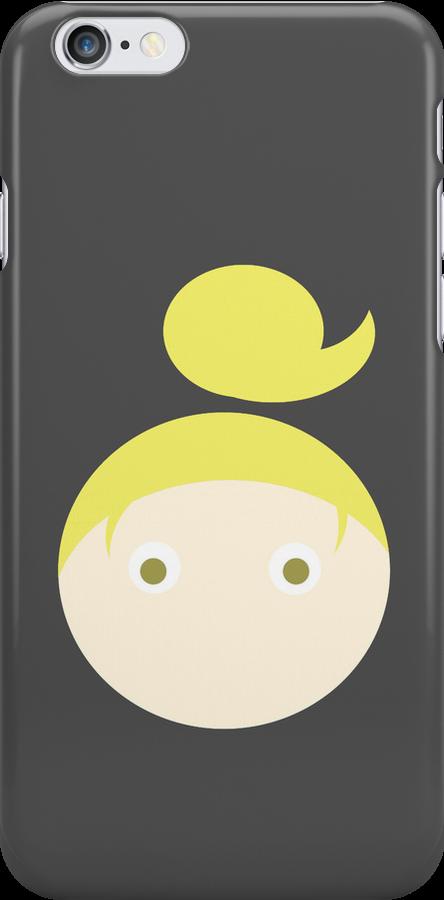 Blonde Hair Hazel Eyed Girl by Rjcham