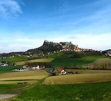 Austrian Countryside Outside Graz by Julia Milner