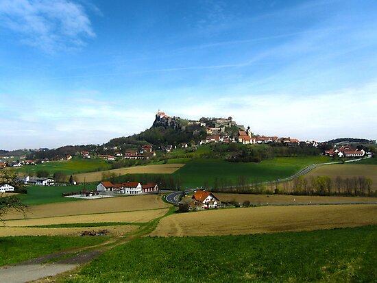 Austrian Countryside Outside Graz by Julia Milner
