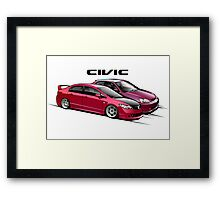 Civic 01 Framed Print