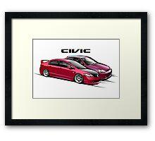 Civic 01 Framed Print