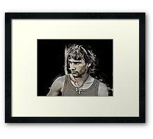 The Eldest... Framed Print
