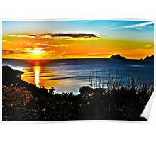 HDR Fijian Sunset Poster