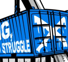 Rig Lift and Struggle Sticker
