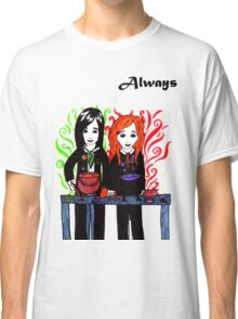 Severus Snape & Lily Evans ~ Always. Classic T-Shirt