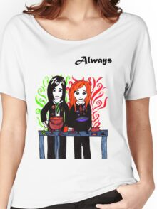 Severus Snape & Lily Evans ~ Always. Women's Relaxed Fit T-Shirt