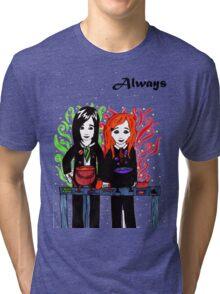Severus Snape & Lily Evans ~ Always. Tri-blend T-Shirt
