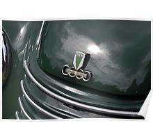 DKW F91 Cabrio Karmann hood (1954) Poster