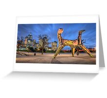 Angel of Melbourne Greeting Card