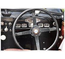 Frazer Nash BMW 327-55 Cabrio interior (1938) Poster