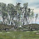 Uberabasuchus terrificus by Walter Colvin