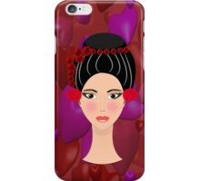 Beautiful Chinese Princess iPhone case design iPhone Case/Skin