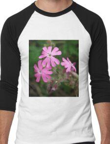 Pink Petals Men's Baseball ¾ T-Shirt