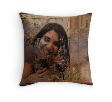 Queen of the Road Throw Pillow