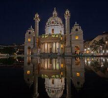 Karlskirche by David Baird