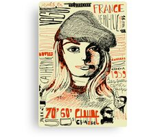 Nouvelle Vague Canvas Print