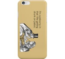 Funny Quote #9 iPhone Case/Skin