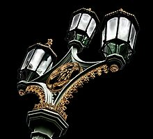 Lamps on Westminister Bridge by Delboy10