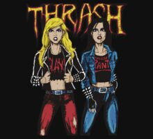 Thrash Metal Chicks by Luke Kegley