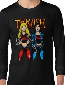 Thrash Metal Chicks Long Sleeve T-Shirt