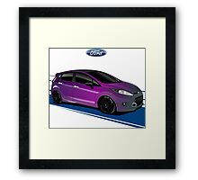 Ford Fiesta 01 Framed Print