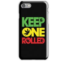Keep One Rolled iPhone Case/Skin
