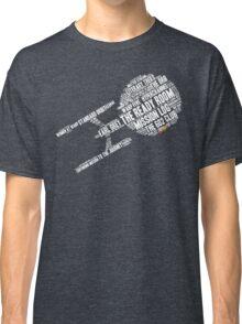 Trek.fm Word Cloud (Dark) Classic T-Shirt