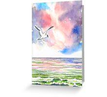 SEAGULL AT THE NORTH SEA Greeting Card