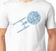 Trek.fm Word Cloud (Light) Unisex T-Shirt