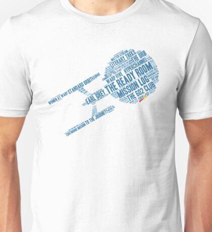 Trek.fm Word Cloud (Light) T-Shirt