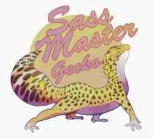 Sass Master Leopard Gecko One Piece - Long Sleeve