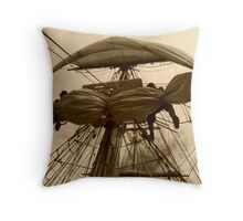 Not For The Faint Hearted Throw Pillow