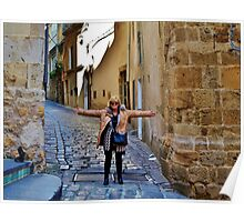Narrow Streets. Poster