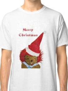 A Snowflake Christmas for Teddy Classic T-Shirt