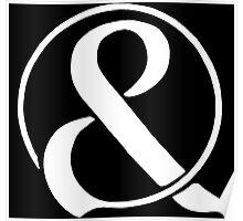 & (OM&M)-White Poster