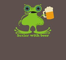 Funny sexy burping beer frog Unisex T-Shirt
