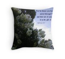 Grace: The Gift Of God Throw Pillow