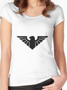 AZTEC BIRD. Women's Fitted Scoop T-Shirt