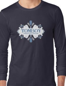 tomboy princesses beware decorative emblem Long Sleeve T-Shirt