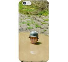 Up to your neck iPhone Case iPhone Case/Skin