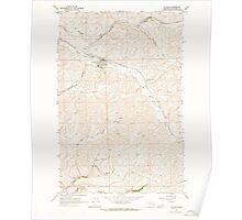 USGS Topo Map Washington State WA St John 243986 1964 24000 Poster