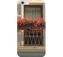 The Geranium Window iPhone Case/Skin