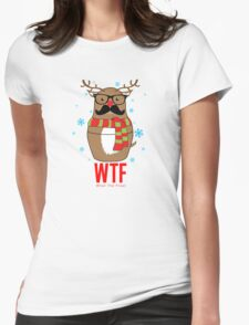 What the Frost Womens Fitted T-Shirt