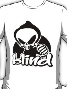 Blind skeleton. T-Shirt