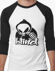 Blind skeleton. Men's Baseball ¾ T-Shirt