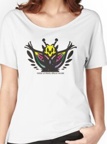 Wise mystical butterfly steals brains Women's Relaxed Fit T-Shirt